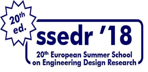 20th Summer School on Engineering Design Research (SSEDR '18)