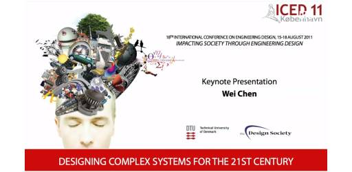 Designing Complex Systems for the 21st Century - ICED11 Keynote Speech