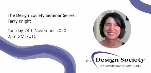 WATCH: The Design Society Seminar Series: Terry Knight