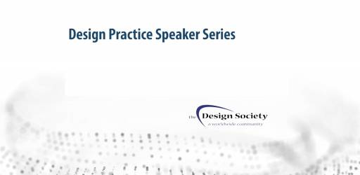 Design Practice Speaker Series VOD now available