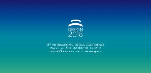 DESIGN 2018 - 15th International Design Conference
