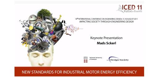 Meeting the Energy Challenge - ICED11 Keynote Speech