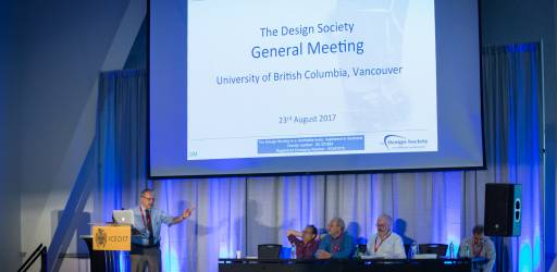 Minutes of the Fourth General Meeting of the Design Society