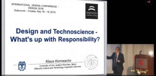 Design and technoscience – what's up with responsibility?