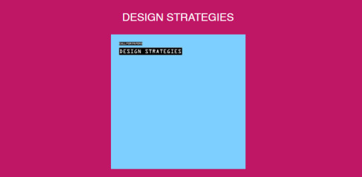 Call for papers: Design Strategies - Bridging Strategy from both Business Economics and Design Sciences