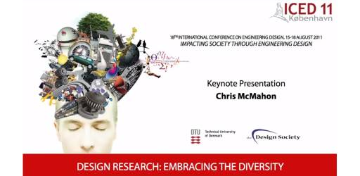 Design Research: Embracing the Diversity - ICED11 Keynote Speech