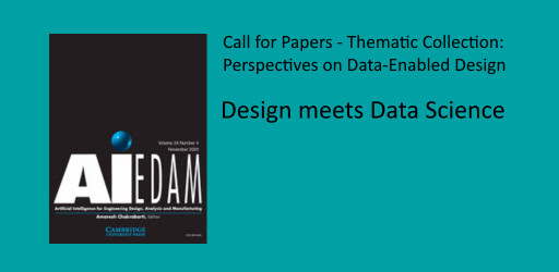 Call for Papers - Thematic Collection: Perspectives on Data-Enabled Design