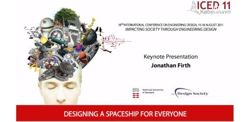 Designing a Spaceship for Everyone - ICED11 Keynote Speech