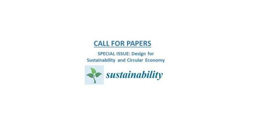 Special Issue on Design for Sustainability and Circular Economy