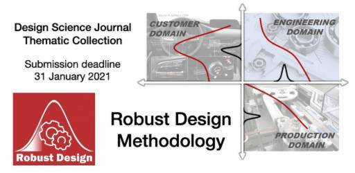 Call for Papers: Thematic Collection on Robust Design Methodology