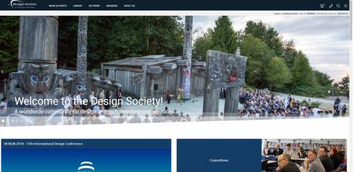 New Design Society Website Tutorials at DESIGN 2018