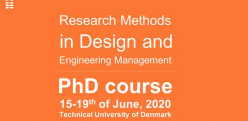Research Methods in Design and Engineering Management (PhD short course)