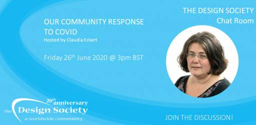 Watch: The Design Society Chat Room: Our Community Response to COVID