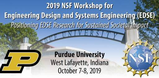 NSF workshop for engineering design and systems engineering (EDSE) 2019
